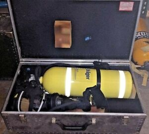 National Draeger Drager Model Pa 80 Compressed Air Breathing Apparatus Inv 3402