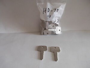 Wholesale Lot 93 Honda Car Key Blanks Hd 70 And Hd 71 Uncut Keys New