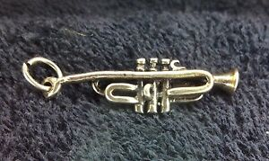 Sterling Silver Scrap Not 2 Grams Trumpet Charm