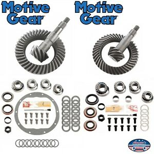 1988 1998 Gm K1500 Tahoe Yukon Suburban Front And Rear 4 10 Gears Package