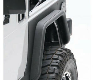 Smittybilt 76877 Jeep Yj Wrangler 87 95 Xrc 1 5 Rear Tube Fenders With 3 Flare