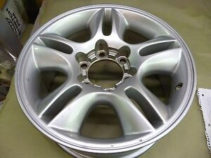 2003 2009 Lexus Gx470 17 Inch Light Silver Alloy Wheel Hollander 74167 A