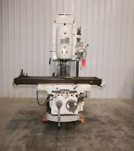 11457 Cincinnati Model 315 16 Vertical Mill 72 X 16 Table