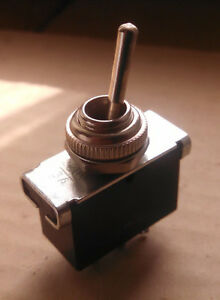 3x Vintage Toggle Switch Double Pole Double Throw dpdt On on 3a 220v