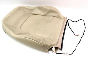 Rh Front Seat Upper Back Rest Cover 04 10 Vw Beetle Beige Leather Genuine