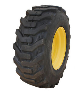 1 New 15 19 5 Galaxy 6 Ply Industral Lug Tire John Deere Compact Tractor Wheel