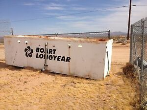 Used Boart Longyear Steel 1 400 Gallon Water Tank With Baffles 1400