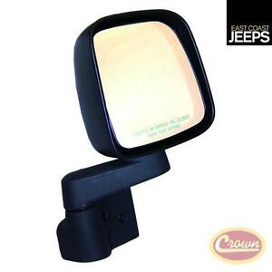 55395060ab Crown Mirror And Arm black right