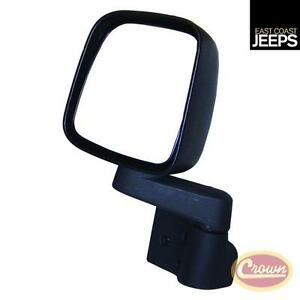 55395061ab Crown Mirror And Arm black left
