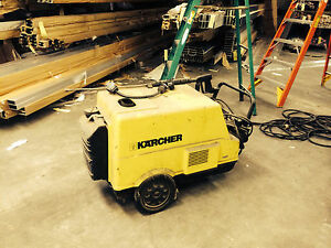 Karcher Hds 760 Pressure Power Washer Steam Cleaner B411076
