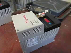 Allen bradley Powerflex 40p Ac Drive 22d d4p0n104 2 0hp 3ph Out 0 460v 4a Used