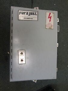 Parajust Ac Motor Speed Controller 601134 1hp 460v Used