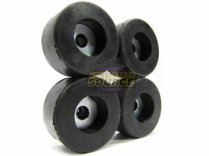 Set Of 4 Air Compressor Rubber Feet Replacement Foot Mount New 4 Vibration Pads