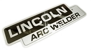 Lincoln Sa 200 Sa 250 Mirrored Stainless Steel Name Plate Bw682