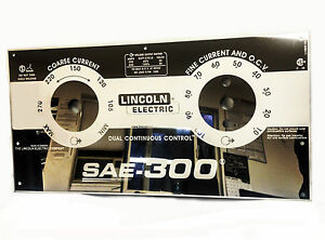 Lincoln Sae 300 L15885 Ee Mirrored Stainless Steel Face Plate Bw677