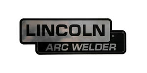 Lincoln Sa 200 Sa 250 lincoln Arc Welder Nameplate Bw683
