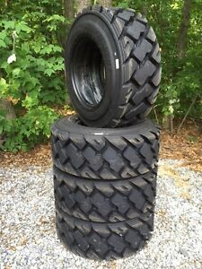 4 Hd 12 16 5 Carlisle Ultra Guard Mx Skid Steer Tires 12x16 5 14 Ply made In Usa