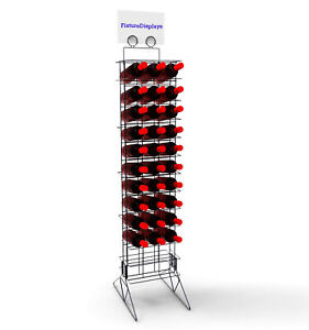 Wine Bottle Rack Liquor Rack Wire Metal Champagne Display Bar Storage Stand