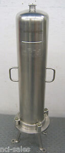 Sartorius Stedim Hu33m7t 7066s Stainless Steel Filter Housing