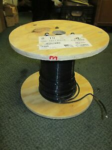 Abci Building Wire Ez wire Bez00819blk 8 Awg 19 Strand 600v Approx 163ft Used