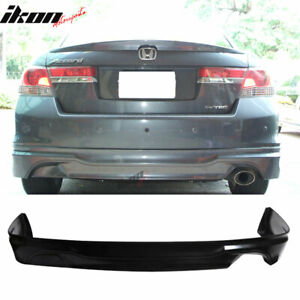 Fits 11 12 Honda Accord Sedan Oe type Urethane Rear Bumper Lip Spoiler Body Kit