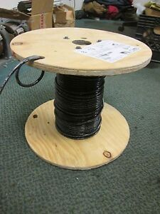 Abci Building Wire Ez wire Bez00819blk 8 Awg 19 Strand 600v Approx 110 Ft Used