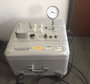 Wells Johnson Aspirator Iii Lipo Suction Unit With Foot Pedal