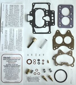 1942 Carb Kit 486s Carter Model Cadillac Wcd 2 Barrel All New