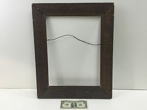 Vintage Wooden Picture Frame From The 1800 S Fits A 17 5 X 14 Picture