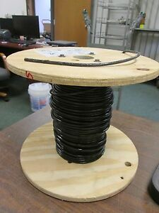 Abci Building Wire Ez wire Bez00819blk 8 Awg 19 Strand 600v Approx 136 Ft Used