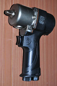 3 8 Ultralight Composite Air Mini Impact Wrench 133mm Length Sp 7146s Japan