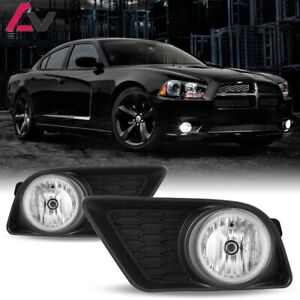 11 14 For Dodge Charger Clear Lens Pair Oe Fog Light Lamp Wiring Switch Kit Dot