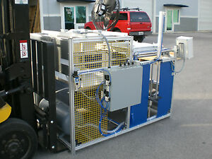 Sibe Automation Vacuum Forming Machine 24 x24 Thermoforming Manual