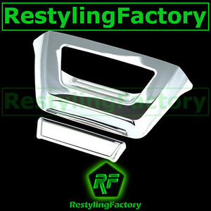 07 13 Chevy Avalanche Triple Chrome Abs Tailgate No Camera Hole Handle Cover