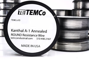 Temco Flat Ribbon Kanthal A1 Wire 0 5mm X 0 1mm 1000 Ft Resistance A 1