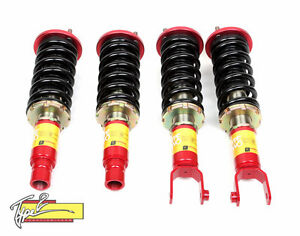 F2 Function And Form Type 2 32ways Adjustable Coilovers 90 93 Acura Integra Da