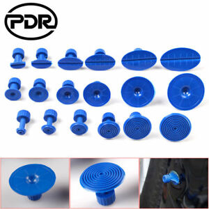 18pcs Blue Pdr Tools Glue Pulling Tabs Puller For Paintless Dent Repair Removal