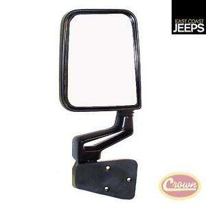 82201772 Crown Right Side Mirror And Arm Black