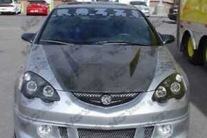 Vis Racing Carbon Fiber Hood Invader Style 02 06 Acura Rsx