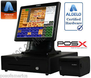 Aldelo 2013 Pro Pos x Ion Pizza Restaurant All in one Complete Pos System New