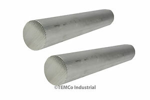 2 Lot 2 25 Inch Diameter 9 Long 6061 Aluminum Round Bar Lathe Rod Stock