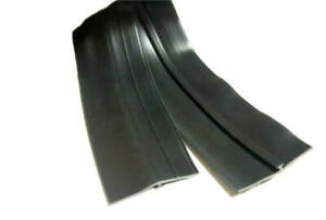 Double Leaf Bottom Door Rubber Seal With T Channel For Truck Caps 6 Ft Roll