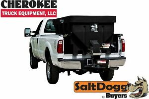 Saltdogg buyers Products Shpe1500x Bulk Salt 50 50 Salt sand Mix Spreader Black