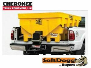 Saltdogg buyers Products Shpe1500xyel Bulk Salt 50 50 Salt sand Mix Spreader