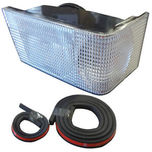 91972c2 Tractor Lights Grille Front Rh Light Assembly International Case Ih