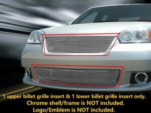 For 2006 2007 Chevy Malibu Billet Grille Grill Combo Grill