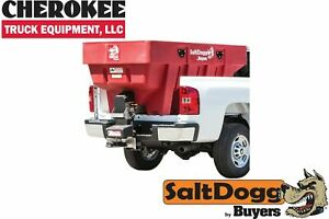 Saltdogg buyers Products Shpe2000xred Bulk Salt 50 50 Salt sand Mix Spreader