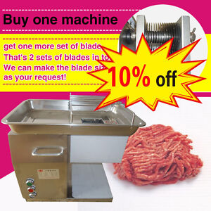 Meat Slicing Machine meat Cutting Machine Meat Cutter With Two Free Custom Blade