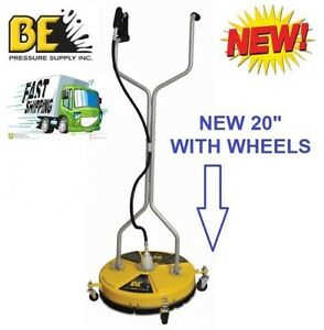 Be Pressure Whirl a way 20 Flat Surface Cleaner washer Concrete Cleaner 20