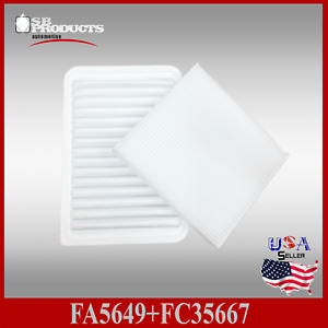 Fa5649 Fc35667 Ca10171 Cf10285 Engine Cabin Air Filter 2007 2017 Camry 4cyl